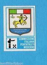 CAMPIONI dello SPORT 1973/74-Figurina n.380- PENTATHLON MODERNO -SCUDETTO -Rec