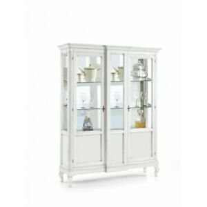 Showcase 2 Doors White Matt, CMS 163x46x208 H