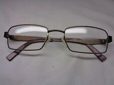 Specsavers Moses eye glasses frames brown metal eye wear 53.19.140
