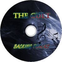THE CULT GUITAR BACKING TRACKS CD BEST GREATEST HITS MUSIC PLAY ALONG MP3 ROCK