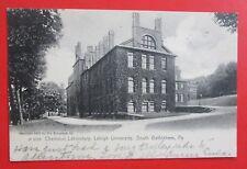 Chemical Laboratory Lehigh University South Bethlehem PA Posted UDB Postcard