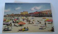 Vintage Linen Postcard On the Sands at Ocean City N.J.