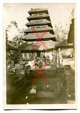 KREUZER EMDEN - orig. Foto, Haus, Hütte, Tempel, Bali, Auslandsreise 1926-28