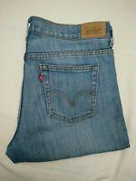 Womens Levis 515 Blue Stretch Bootcut Denim Jeans | 8 Short | W32 L30