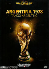 FIFA WORLD CUP=I FILM DEI MONDIALI=1978 ARGENTINA=TANGO ARGENTINO=SIGILLATO