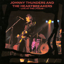 Live at the Lyceum - Johnny Thunders/Johnny Thunders & the Heartbreakers CD 1990