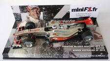 F1 1/43 MCLAREN MP4/25 MERCEDES BUTTON GP AUSTRALIAN GP 2010 MINICHAMPS