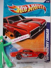 2011 Hot Wheels '68 MERCURY COUGAR 1968 #135 US∞Red;OH5∞Edelbrock∞Performance