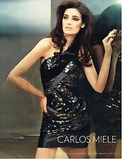 PUBLICITE ADVERTISING   2010   CARLOS MIELE  haute couture