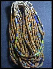 Old African sandcast tradebead necklace