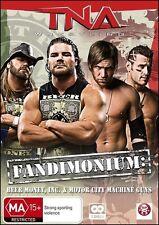 TNA FANDIMONIUM Beer Money INC Motor City Machine Guns Wrestling (2 DVD SET) NEW
