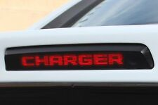 "Vinyl Decal Graphics Wrap for Dodge Charger 2010-2014 3rd Brake Light ""CHARGER"""