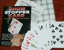 Lubor Fiedler Show Stopper Card -- visible, cigarette thru card - unreal!   TMGS