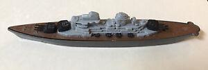 Vintage 1978-1979 TootsieToy No. 2975 DieCast Battleship.