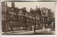 VINTAGE RPPC - OLD HOUSES - HOLBORN LONDON ENGLAND
