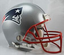 NEW ENGLAND PATRIOTS NFL Riddell ProLine Full Size AUTHENTIC Football Helmet