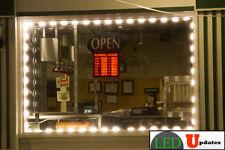 LEDUPDATES 40ft warm white kitchen under cabinet LED LIGHT 5630 UL Listed power