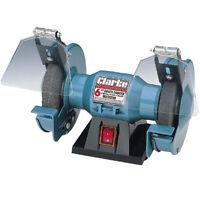 CLARKE METALWORK BENCH GRINDER/SAND BELT 6 inch 150 Watt 2900rpm