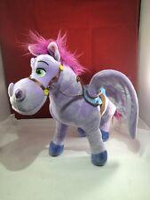 DISNEY plush PURPLE PEGASUS winged pony horse MINIMUS sofia first STUFFED TOY