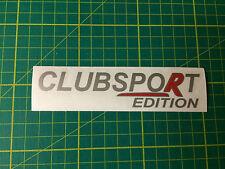 Clubsport Edición Adhesivo Calcomanía VXR VAUXHALL x1 Nurburgring