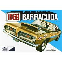 MPC 1969 Plymouth Barracuda 1:25 scale model car kit new 832