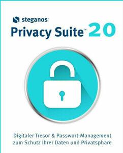 Steganos Privacy Suite 20 - Lebenslange Vollversion Blitzversand kein Abo
