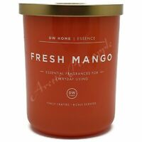 DW Home Essence Large 15.9oz Double Wick Scented Candle Jar - Fresh Mango Scent