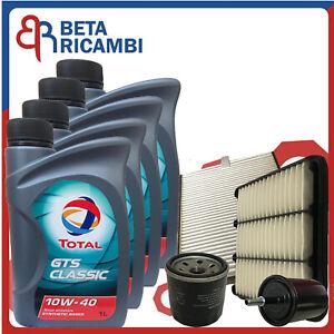 Kit Tagliando Chevrolet Matiz Spark Benzina Gpl Dal 2005 4 Filtri +4 Olio Total