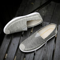 Men's Sneakers Casual Loafers Slip On Low Top Canvas Shoes Driving  !