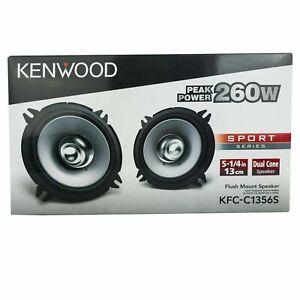 "KENWOOD KFC-C1356S 320W Max 70W RMS 5.25"" 2-Way Coaxial Car Speakers"
