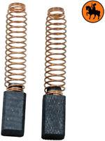 NUOVO Spazzole di Carbone BLACK & DECKER KR700CRE - 6.3x6.3x11mm