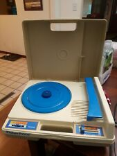 FISHER PRICE RECORD PLAYER MODEL 825 VINTAGE 1978 KIDS TURNTABLE WORKS