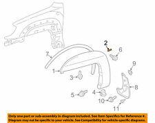 NIP OEM Toyota 4Runner Fender Flare Molding Gasket Pad Seal Strip 7569635080