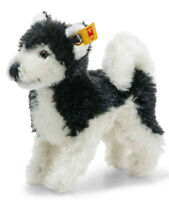 Steiff Husky in Wildlife Gift box - classic collectable mohair - 11cm - 026683