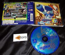 Rockman Mega man MEGAMAN X5 Sony PlayStation PSX Japones Japanese Capcom