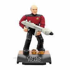 Mega Construx Heroes Series 1 - Star Trek: Next Generation CAPTAIN PICARD Figure