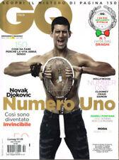 GQ Magazines for Men in Italian