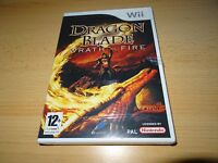 Nintendo Wii Jeu - Dragon Blade : WRATH OF FIRE NOUVEAU SCELLÉ PAL