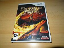 Nintendo Wii Game - Dragon Blade : Wrath Of Fire NEW SEALED  PAL