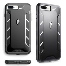 Full Coverage Shockproof Cover Case For iPhone 7 Plus / iPhone 8 Plus Black