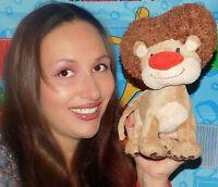 "Disney EXCLUSIVE JOJO'S CIRCUS 10"" GOLIATH LION stuffed plush JOJOS TOY SOFT"