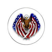 Bald Eagle USA Flag Patriots Magnetic Golf Ball Marker - High Resolution
