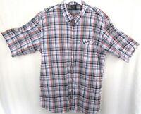 Canyon Creek Men's Button Down Short Sleeve Shirt Size XXL