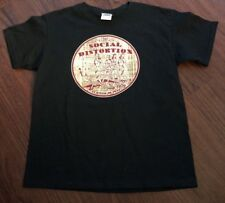 Camp Social Distortion Troop 1979 TShirt Youth Large New NWOT Mike Ness Skelly