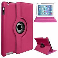 Pink Flip Case For Apple iPad 2 3 4 5th Generation Full Screen Protection Cover
