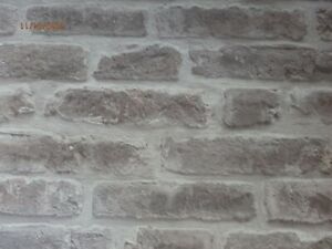 Taupe Textured Brick Solid Vinyl Washable Wallpaper wallpaper wall covering