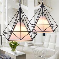 2X 9W Led Pendelleuchte schwarz Design Hängeleuchte Decken-Lampe Küche Esszimmer