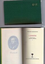 feodoro dostoievsky - i demoni - 2 volumi-  biblioteca romantica