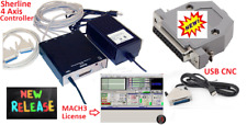 Sherline 8760 CNC controller + MACH3 License + USB-CNC (For Windows OS Only)
