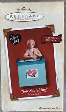 """Hallmark 2002 Wind-Up Ornament - I Love Lucy. """"Job Switching"""" Chocolate Factory"""